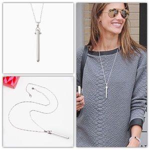 Stella & Dot Rebel Pendant Necklace - Silver